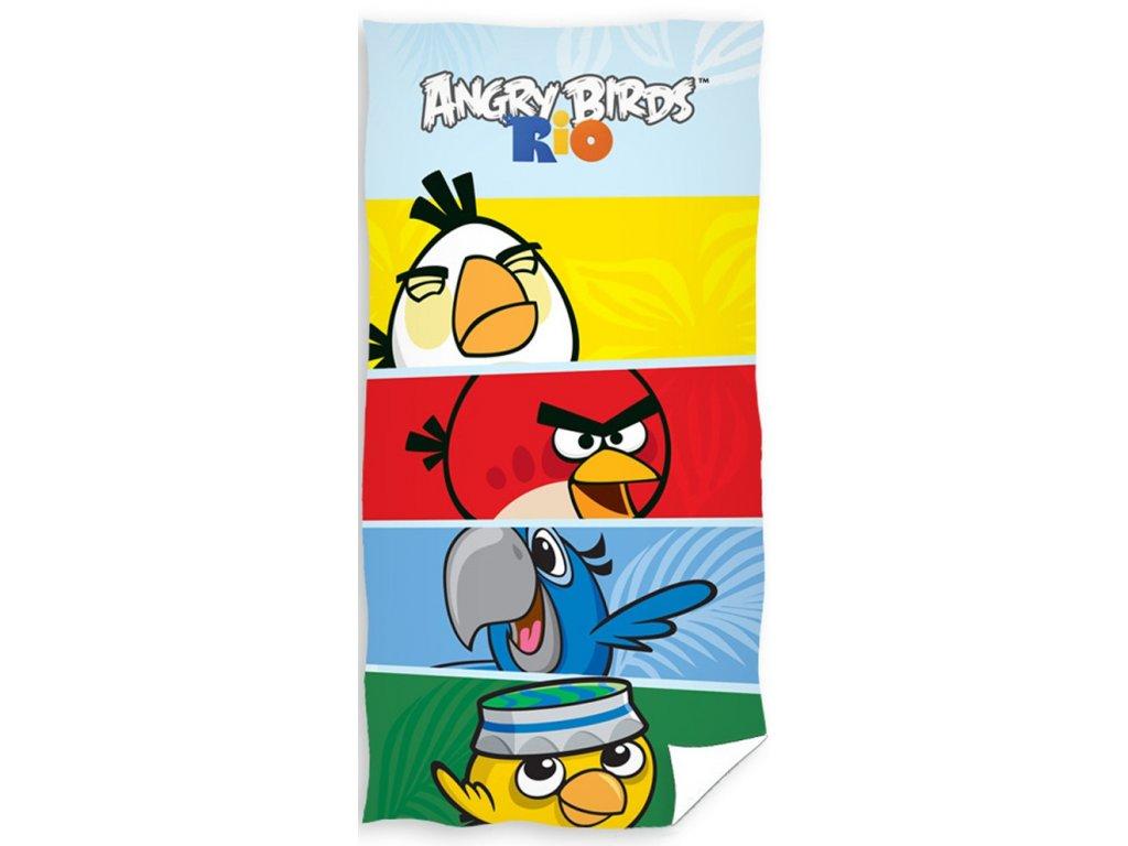 Angry Birds dětská osuška CHECK
