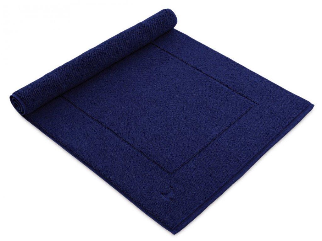 Möve koupelnová předložka ESSENTIAL tmavě modrá