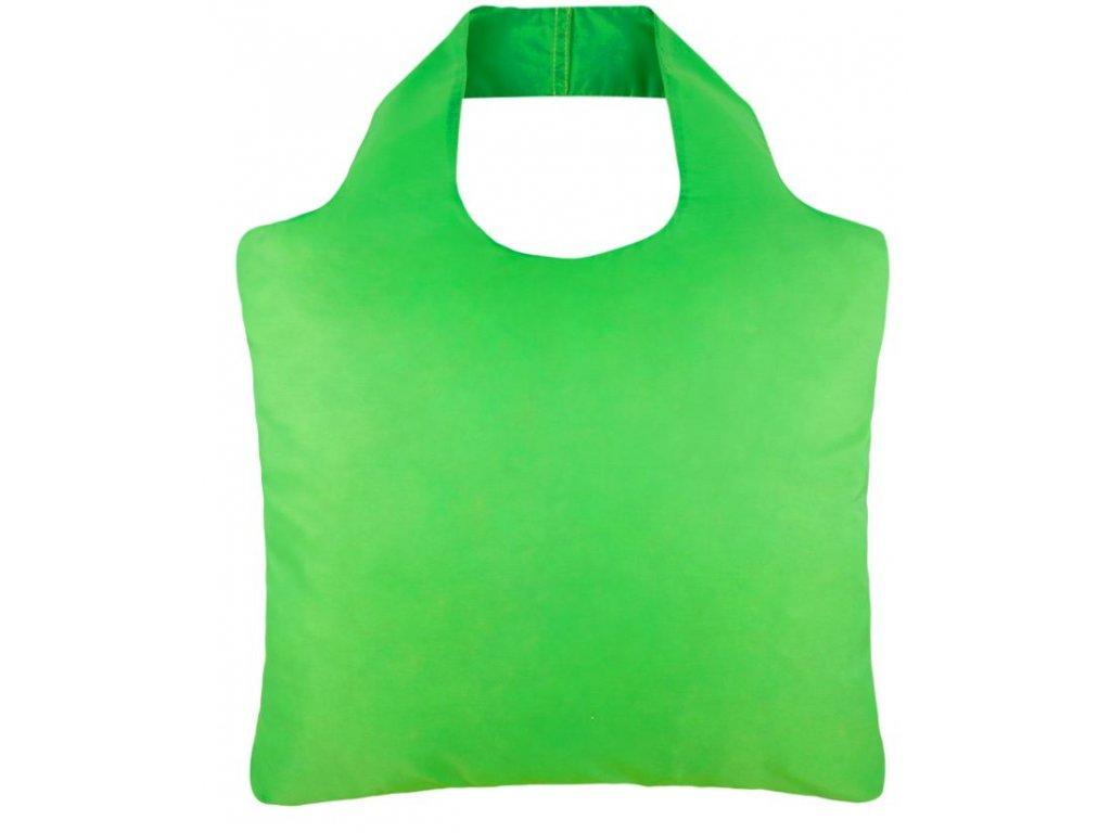 ECOZZ nákupní taška single color Bean green