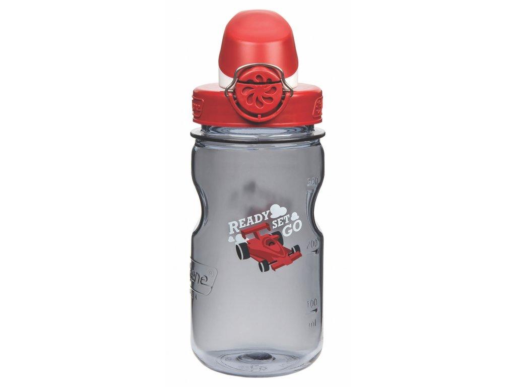 NALGENE - dětská láhev On The Fly 350 ml Gray Car