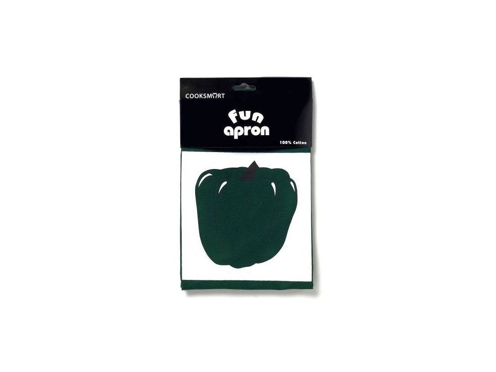Cooksmart - Pepper zelená zástěra