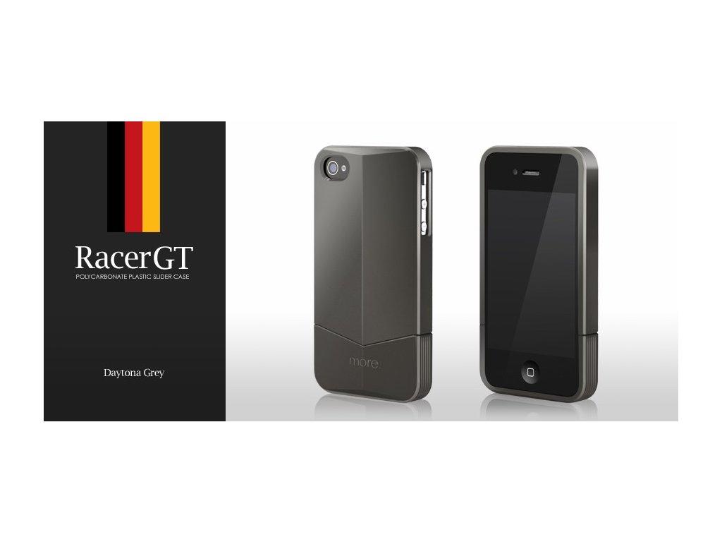 MORE Racer GT Daytona Grey - kryt na iPhone 4/4S