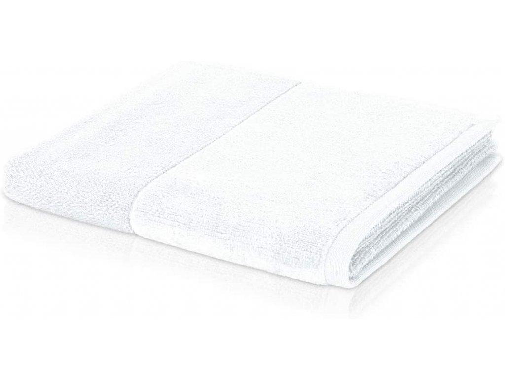Möve - bambusový ručník bílý