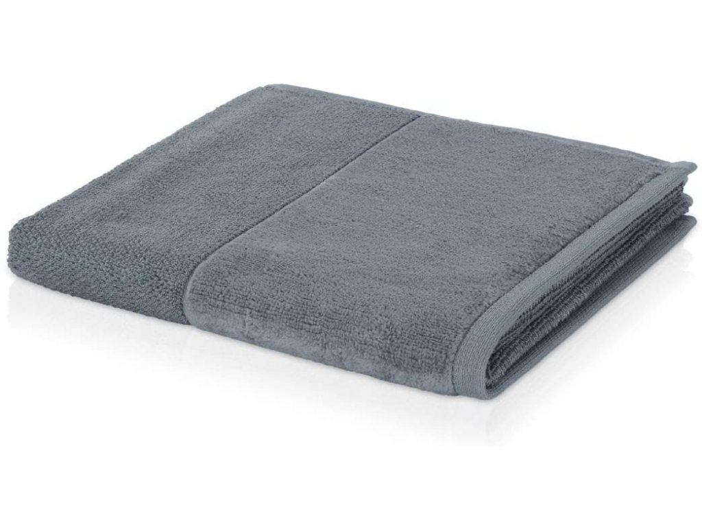 Möve - bambusový ručník šedý