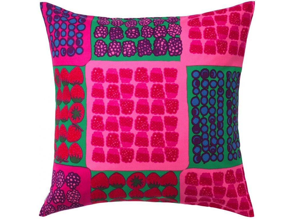 Marimekko - povlak na polštář Mummolan Marjat 50 x 50 cm