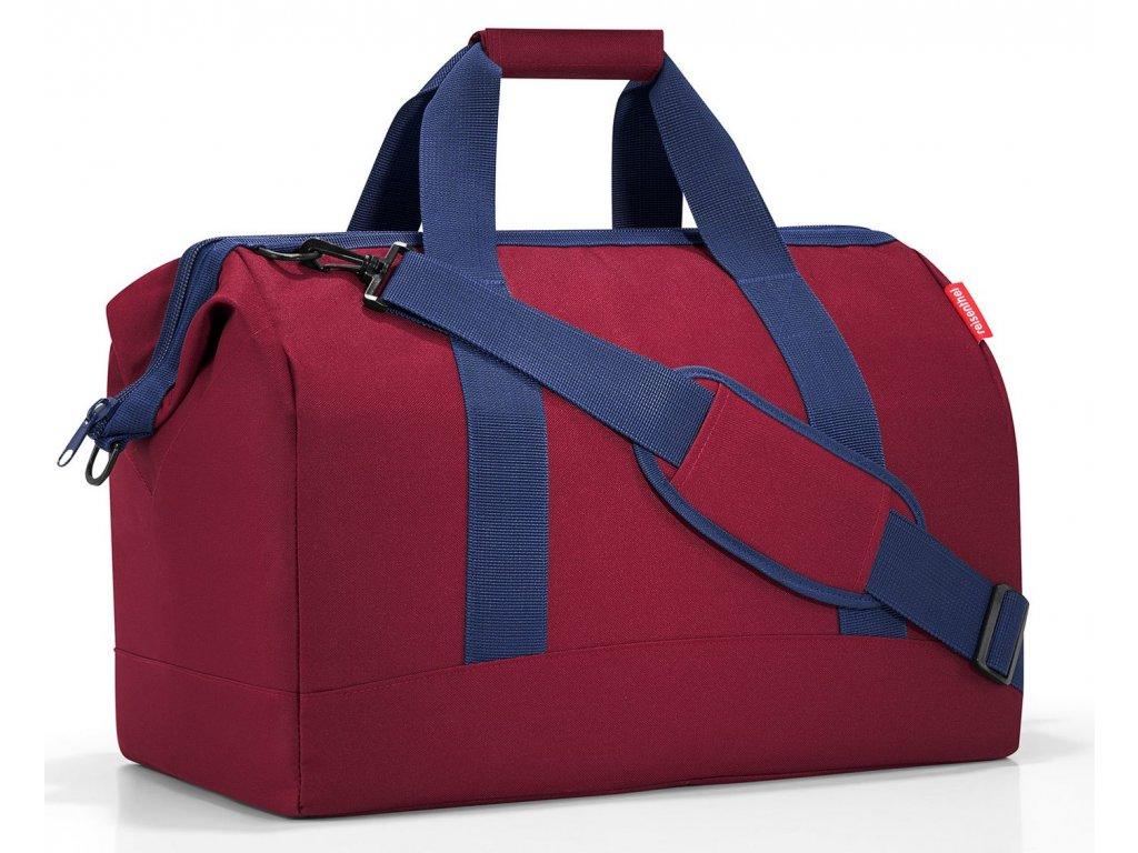 Reisenthel cestovní taška Allrounder L dark ruby