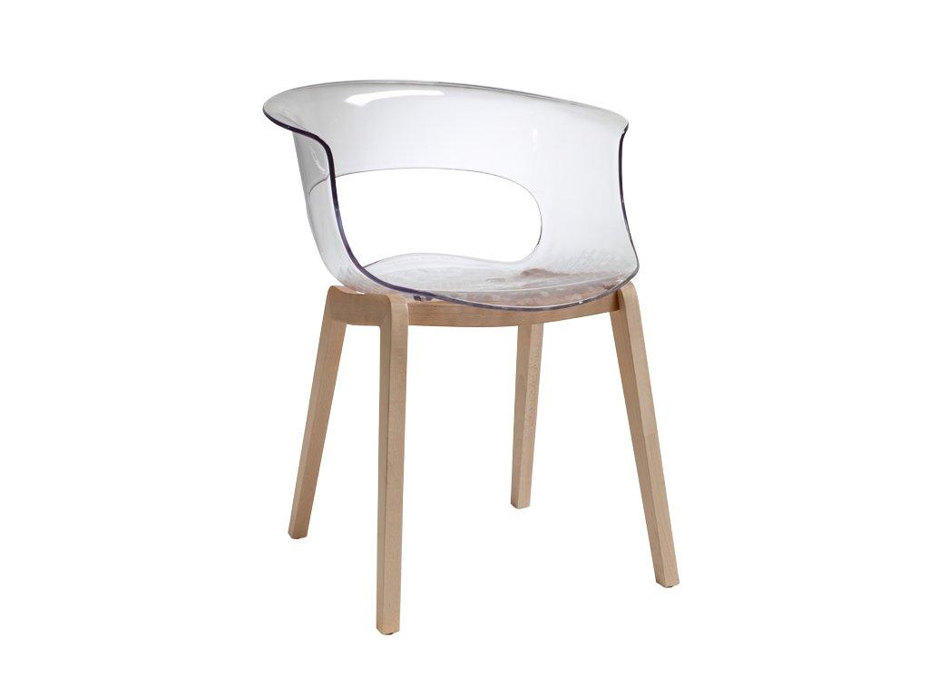 SCAB - plastová židle NATURAL MISS B ANTISHOCK