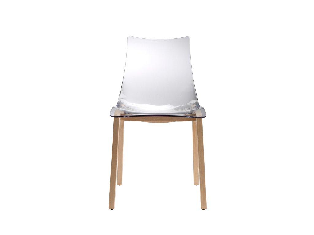 SCAB - plastová židle NATURAL ZEBRA ANTISHOCK