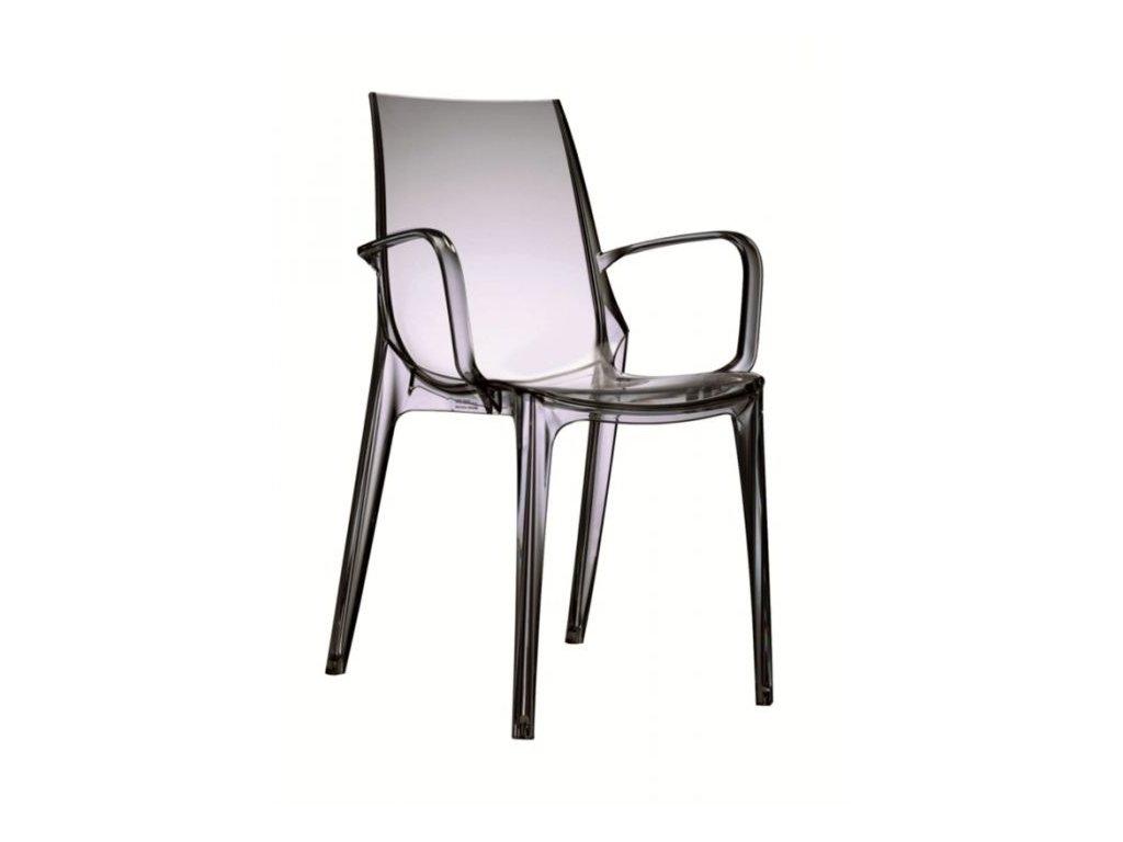 SCAB - plastová židle VANITY s područkami