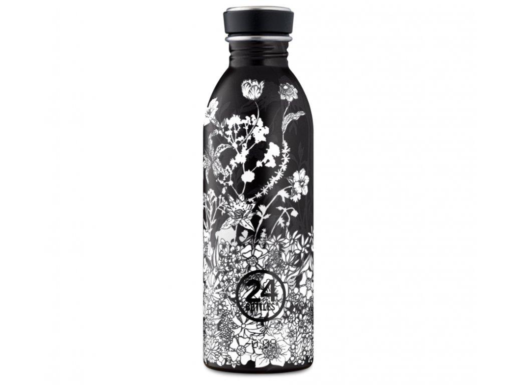 24Bottles - nerezová lahev Urban Bottle 500 ml Noir