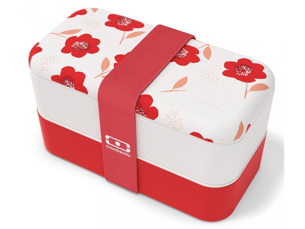 Monbento Bento box na jídlo MB Original Poppy