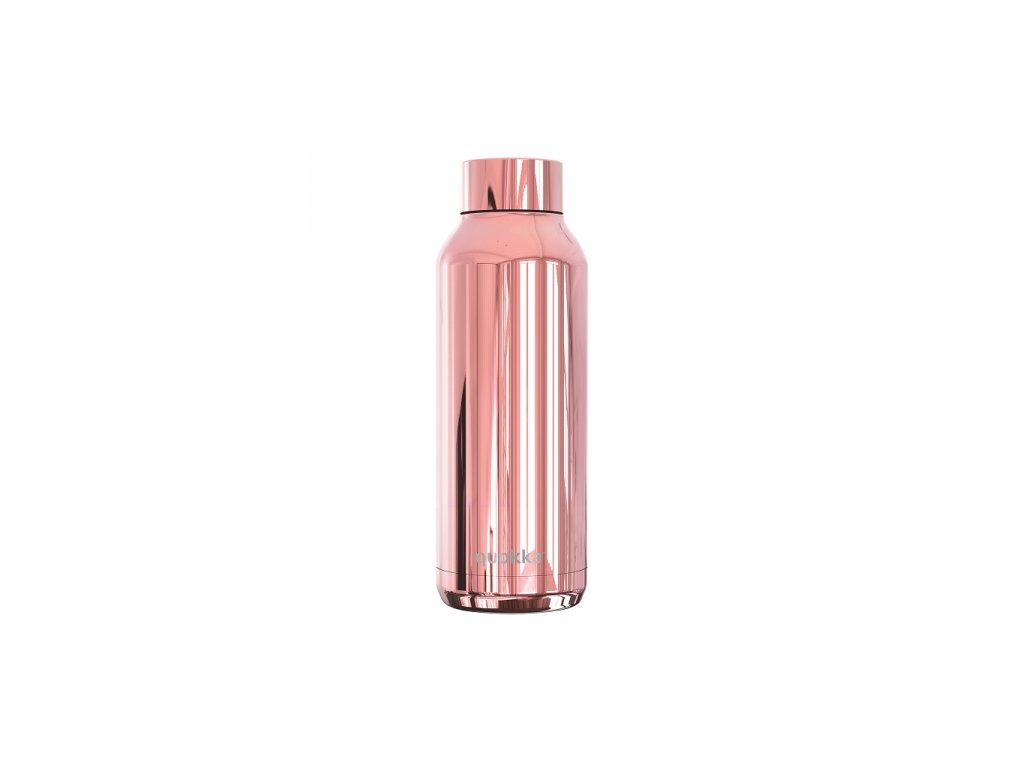 Quokka nerezová láhev Solid Sleek růžová 510 ml