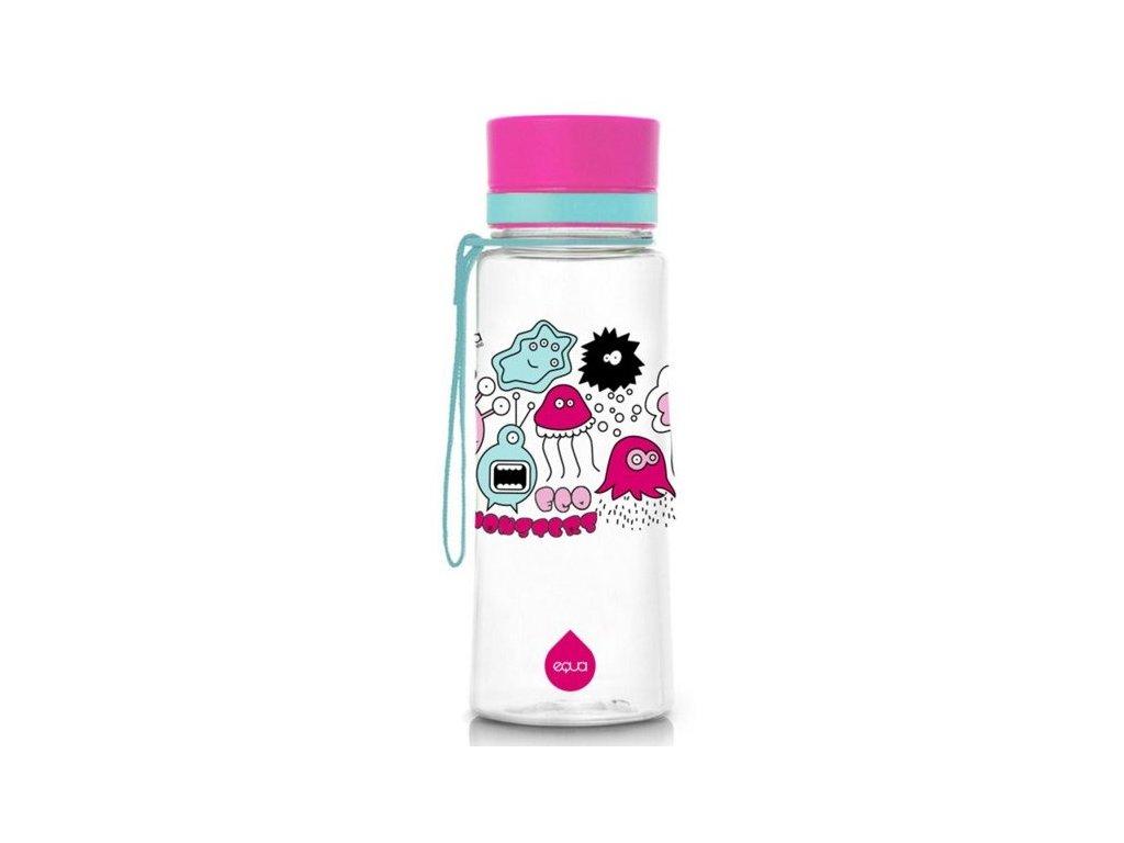 EQUA plastová láhev na vodu Monsters 0,6l