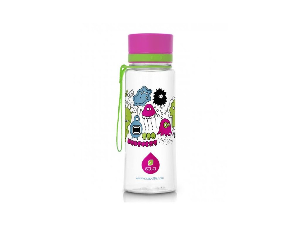 EQUA - láhev na vodu Monsters 0.4 l