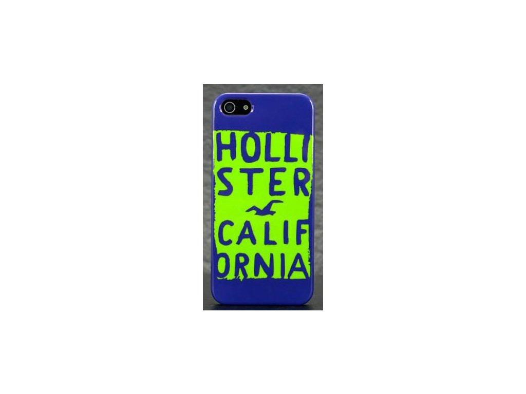 Hollister Case obal na iPhone 5/5S modro-zelený