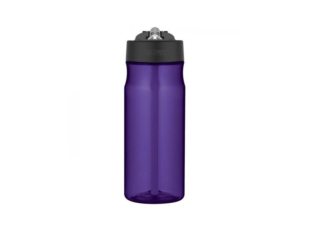 Thermos - hydratační láhev s brčkem 530 ml fialová
