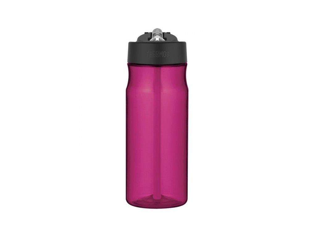Thermos - hydratační láhev s brčkem 530 ml purpurová