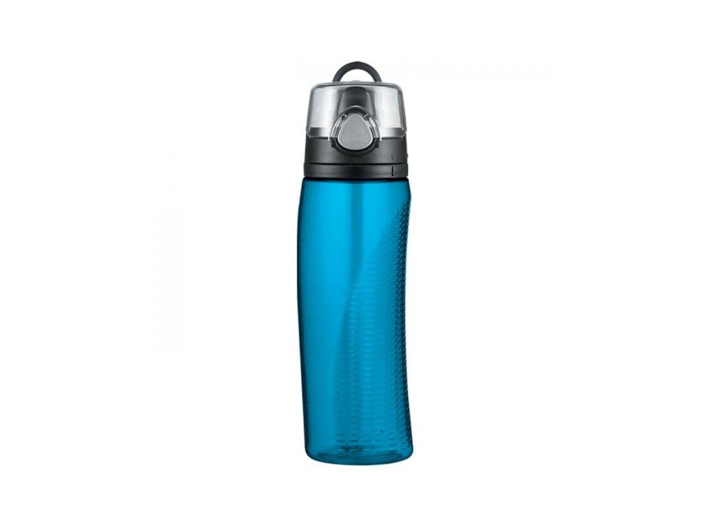 Thermos hydratační láhev 710 ml s počítadlem světle modrá
