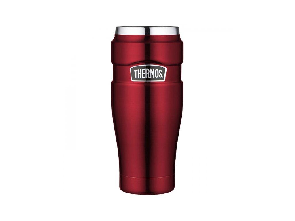 Thermos - nerezový termohrnek 470 ml červený