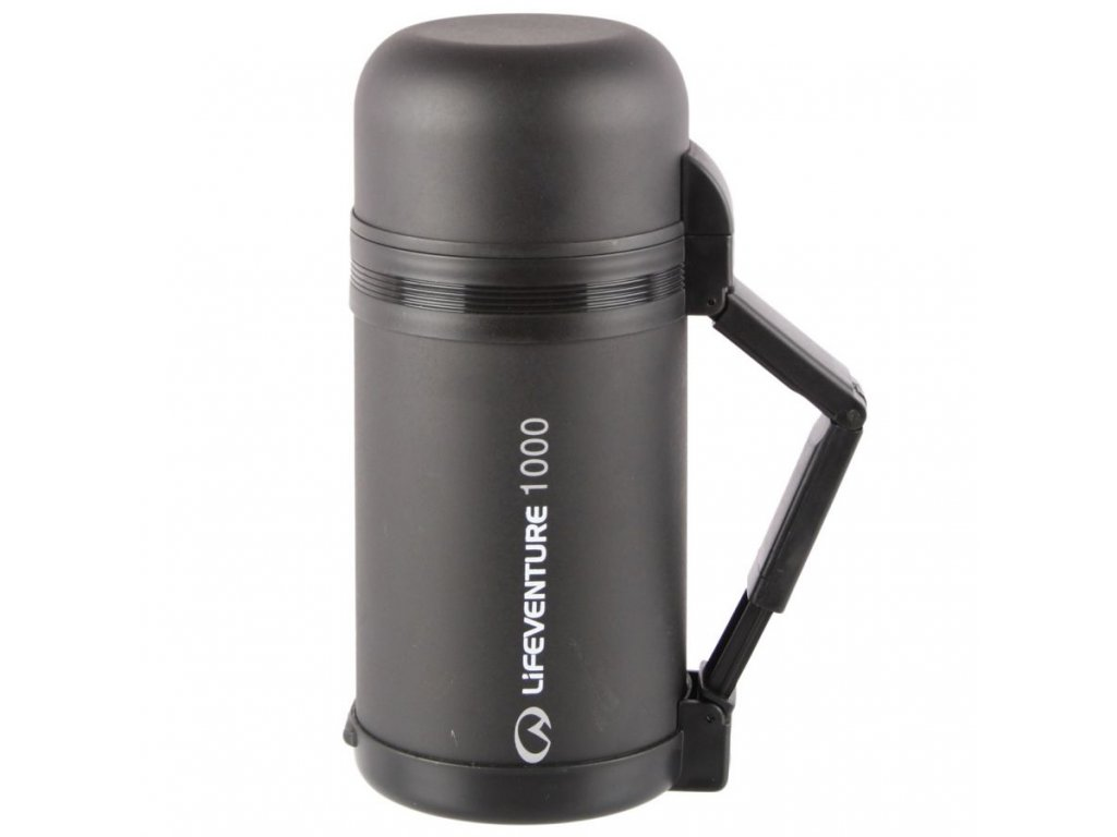 LifeVenture - termoska Wide Mouth Vacuum Flask 1000 ml