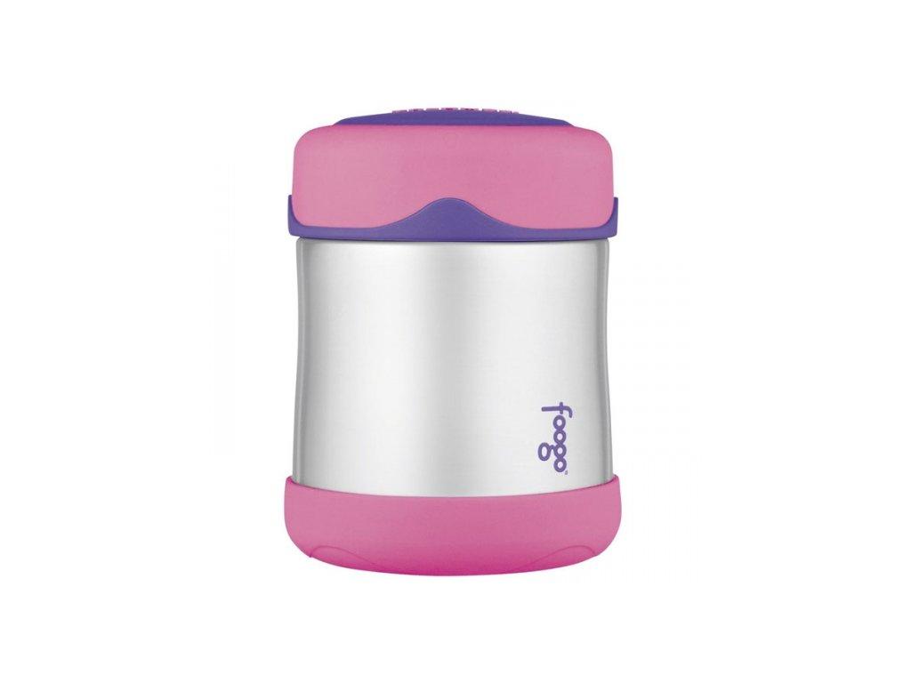 Thermos - kojenecká termoska na jídlo růžová