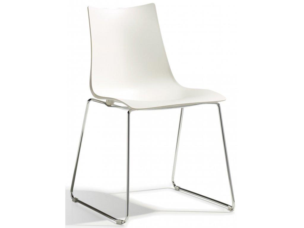 SCAB - židle ZEBRA technopolymer sledge