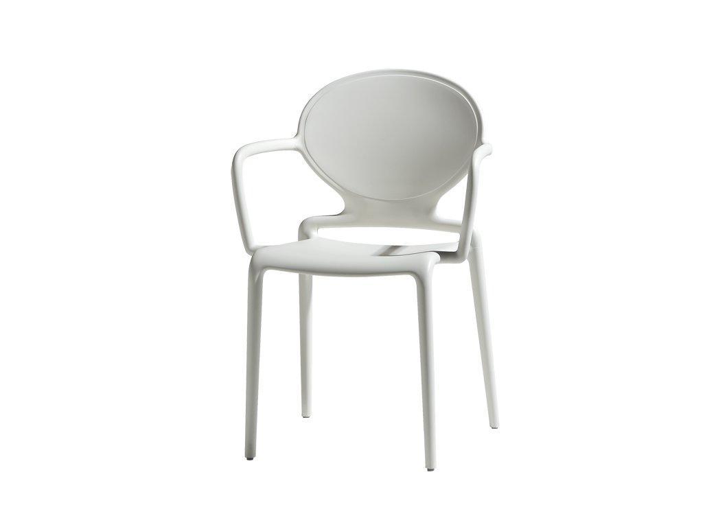 SCAB - plastová židle GIO s područkami balení 4 ks