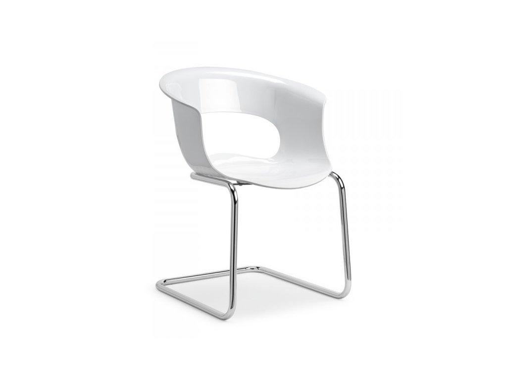 SCAB - plastová židle MISS B CANTILEVER ANTISHOCK