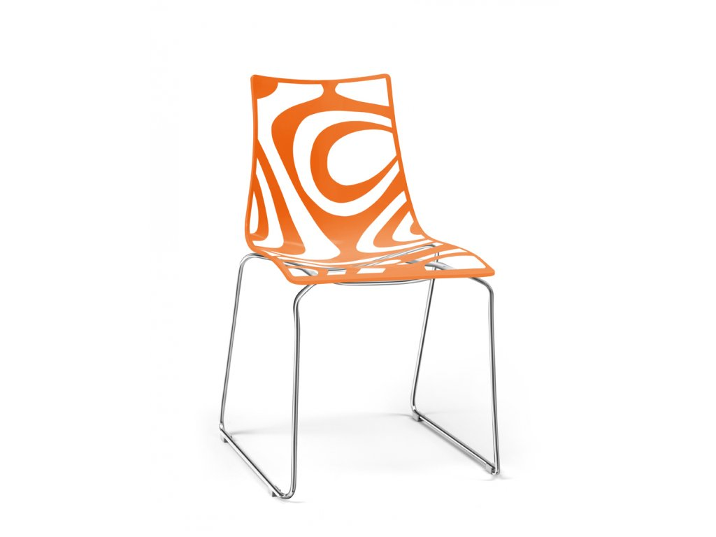 SCAB - plastová židle WAVE CHAIR