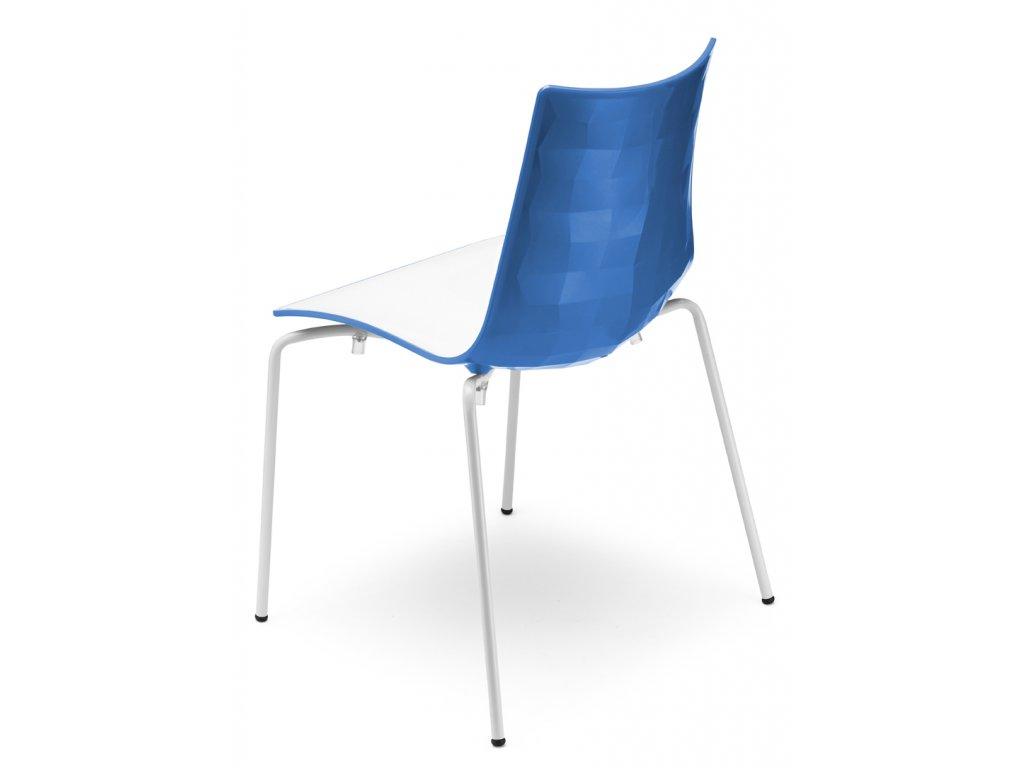 SCAB - plastová židle ZEBRA BICOLORE