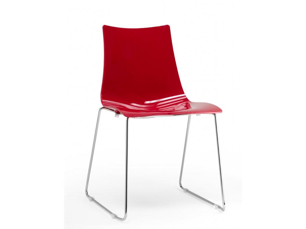 SCAB - plastová židle ZEBRA ANTISHOCK