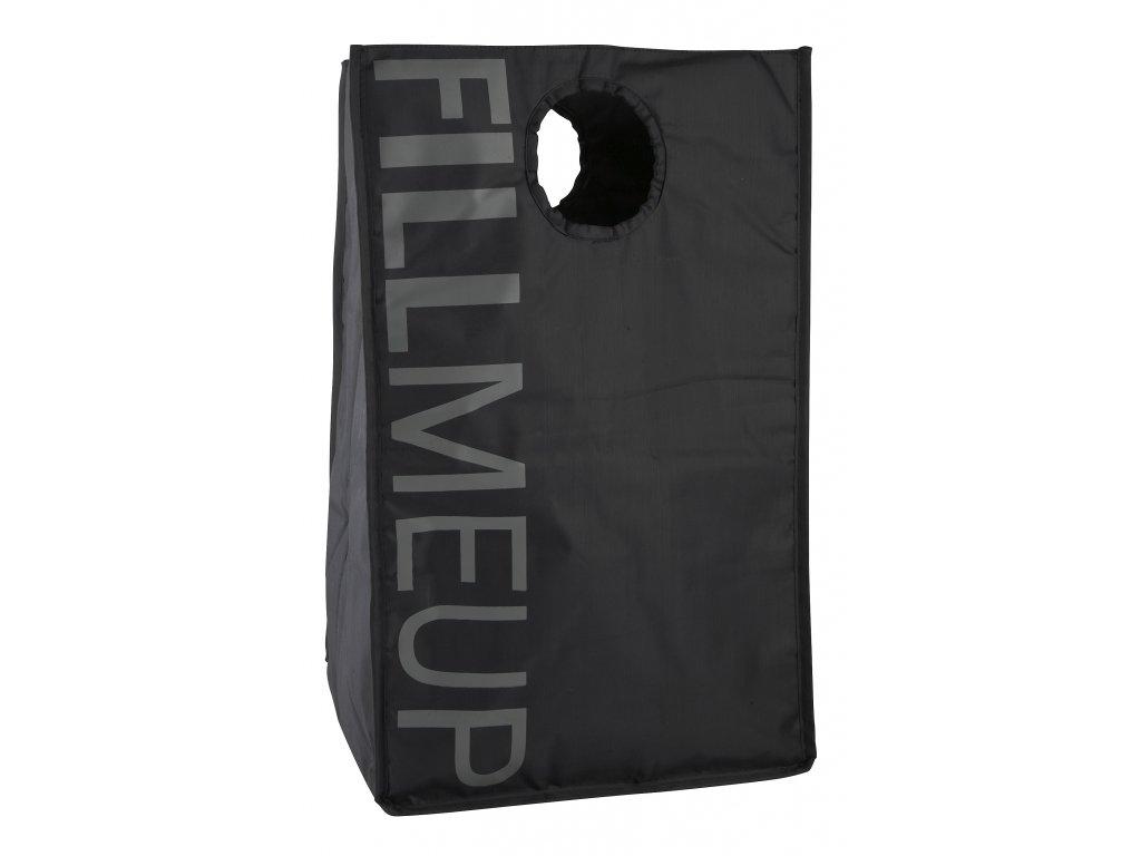 Zone - koš na prádlo Confetti černý