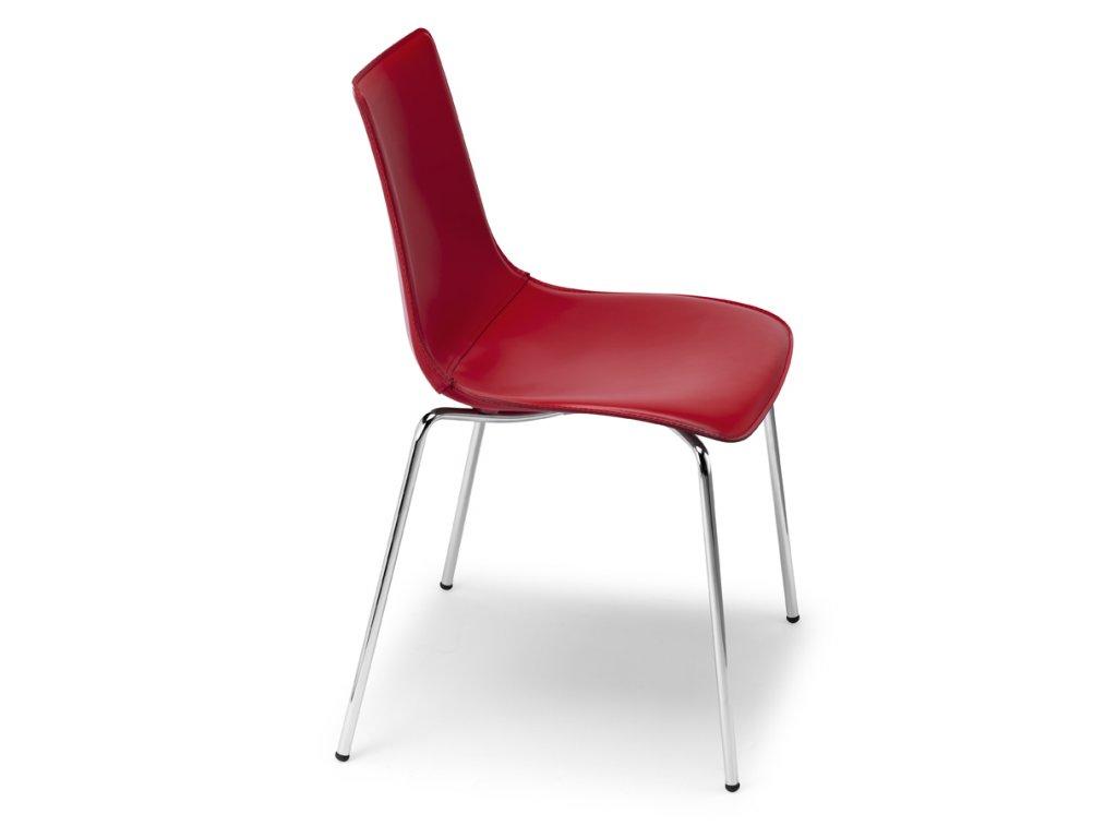 SCAB - polstrovaná židle  ZEBRA POP - 4 nohy