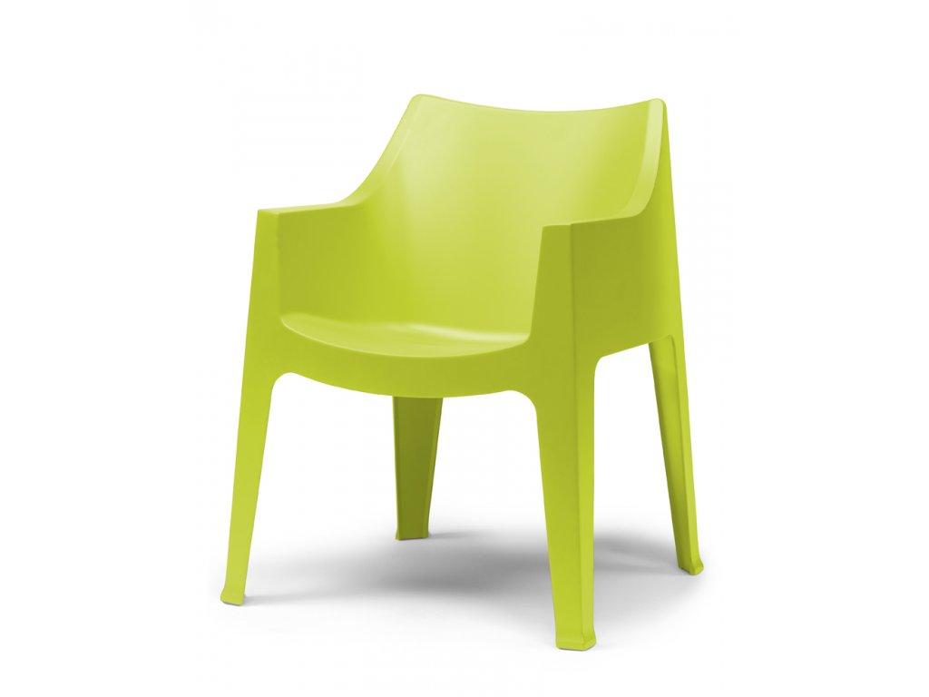 SCAB - zahradní plastová židle COCCOLONA balení 4 ks