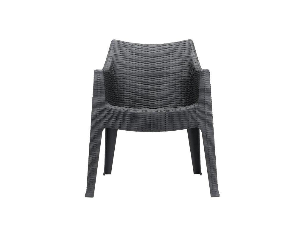 SCAB - zahradní plastová židle MAXIMA