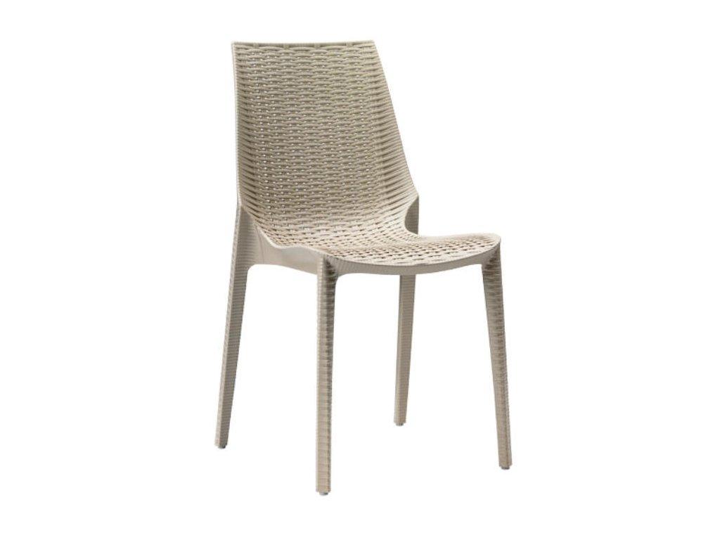 SCAB - zahradní plastová židle LUCREZIA balení 6 ks