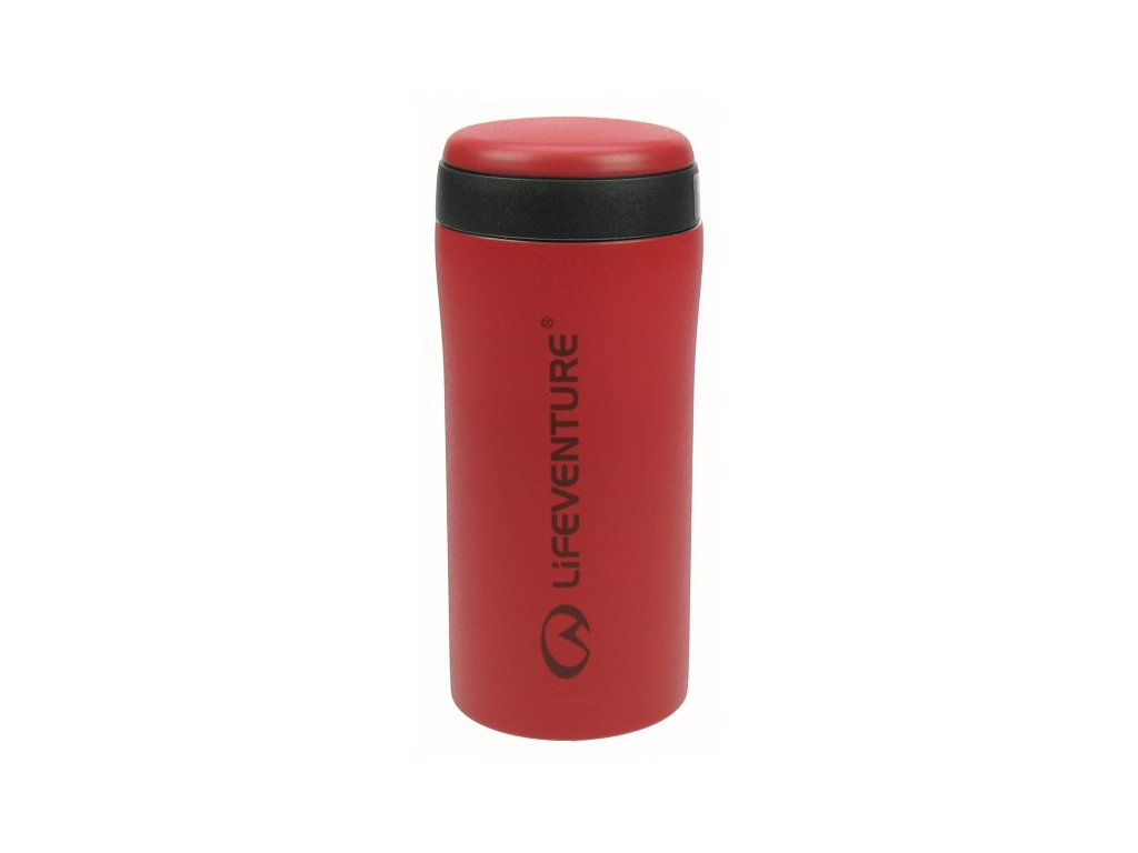 LifeVenture - termohrnek Thermal Mug červený matný
