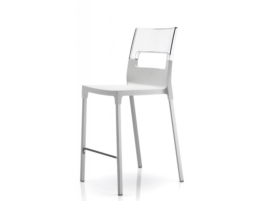SCAB barová plastová židle DIVA STOOL