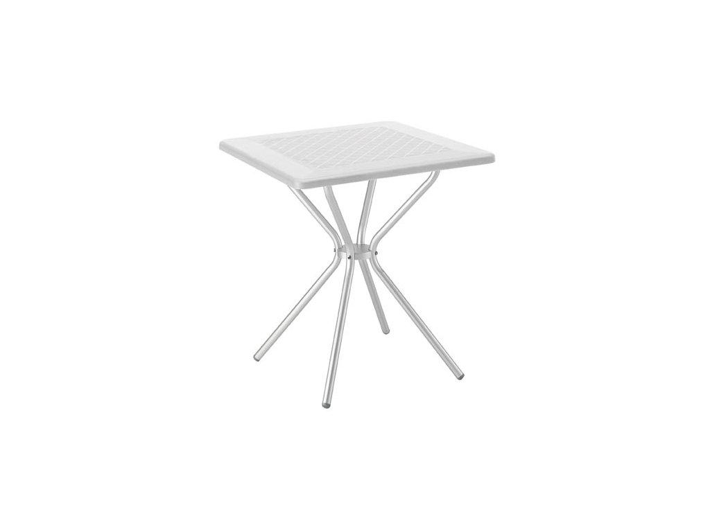 SCAB - plastový zahradní stůl JIMMY, top 70 x 70 cm