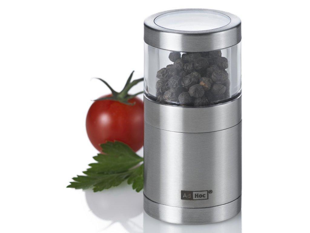 AdHoc - Mlýnek BASSO na pepř či sůl