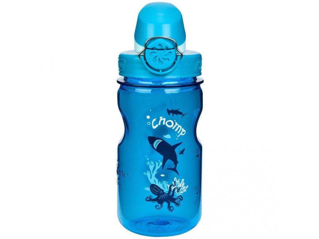 NALGENE - dětská láhev On The Fly 350 ml Slate Chomp
