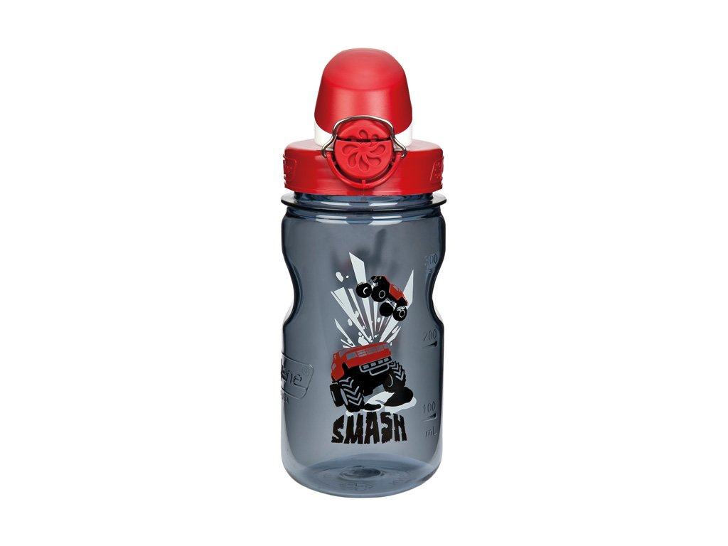 NALGENE - dětská láhev On The Fly 350 ml Gray Smash