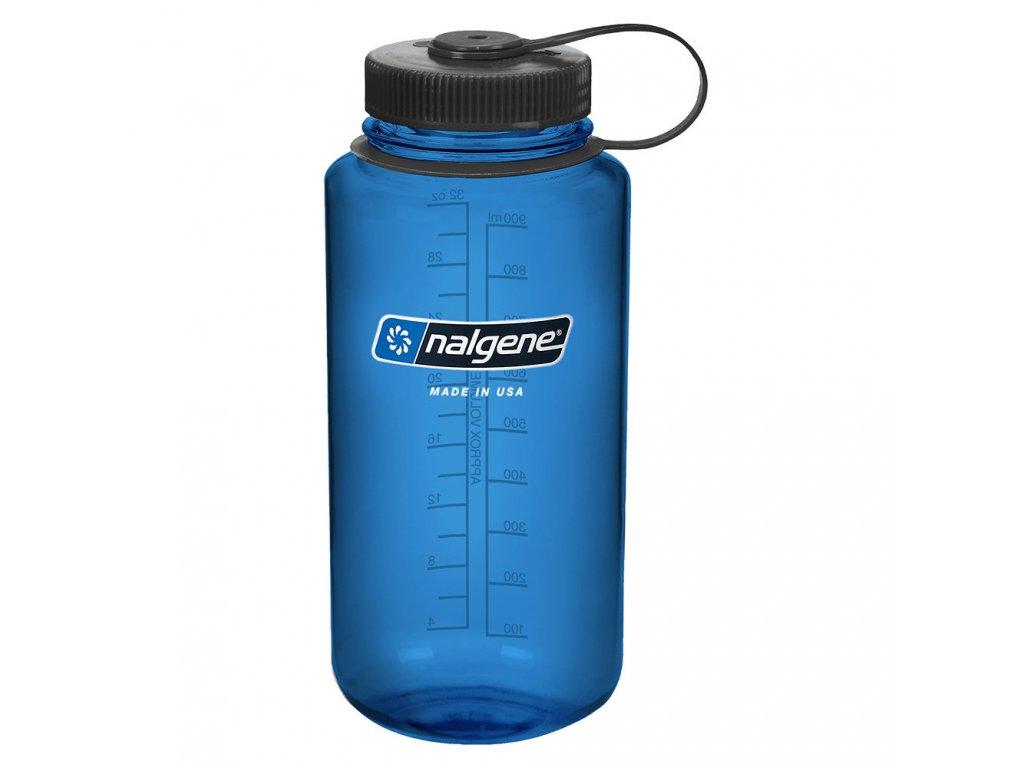 NALGENE - láhev na pití Wide Mouth 1000 ml Blue