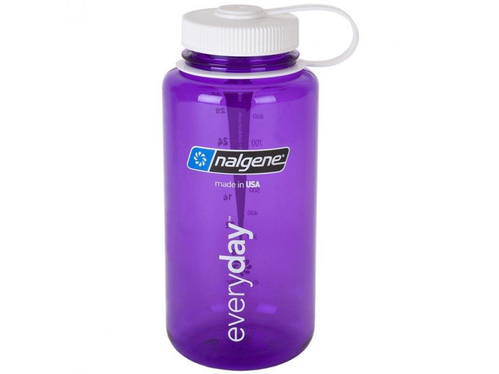 NALGENE - láhev na pití Wide Mouth 1000 ml Purple