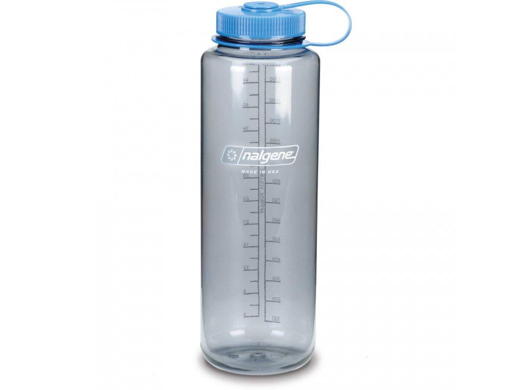 NALGENE - láhev na pití Wide Mouth 1500 ml Grey