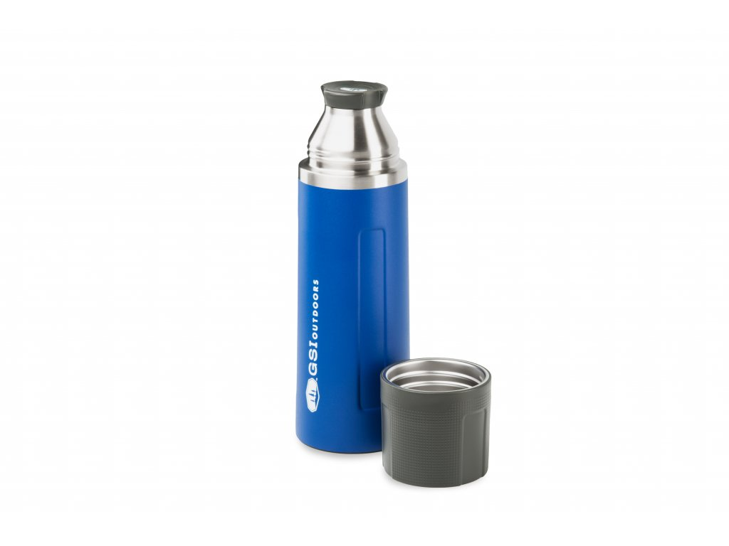 GSI Outdoors termoska Glacier Stainless 1,0l modrá