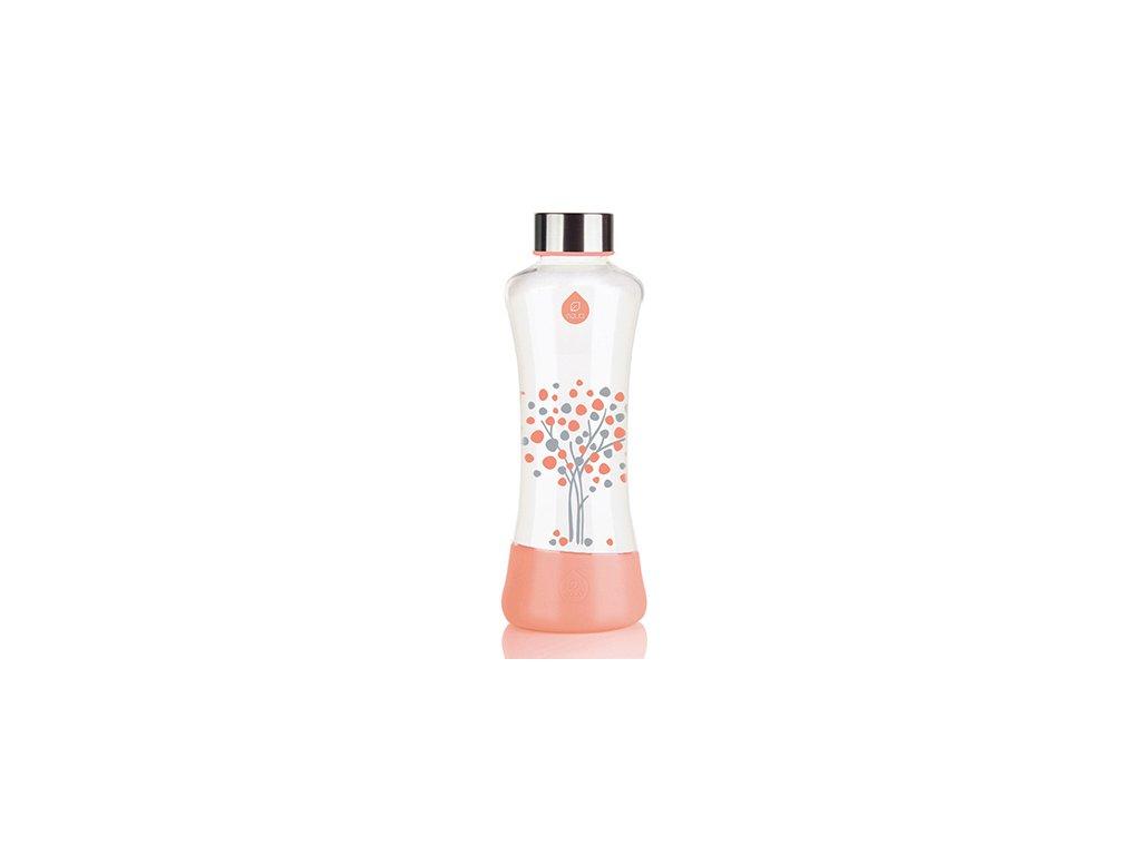 EQUA skleněná láhev na pití Esprit Peach Tree 0.55 l