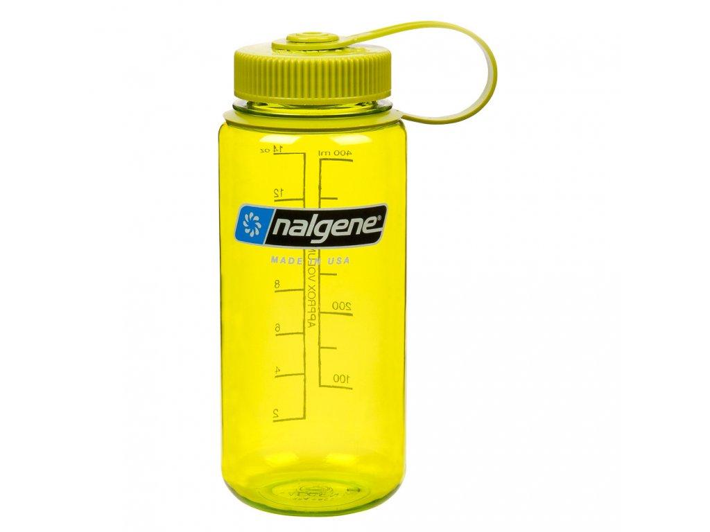 NALGENE - láhev na pití Wide Mouth 500 ml Spring Green