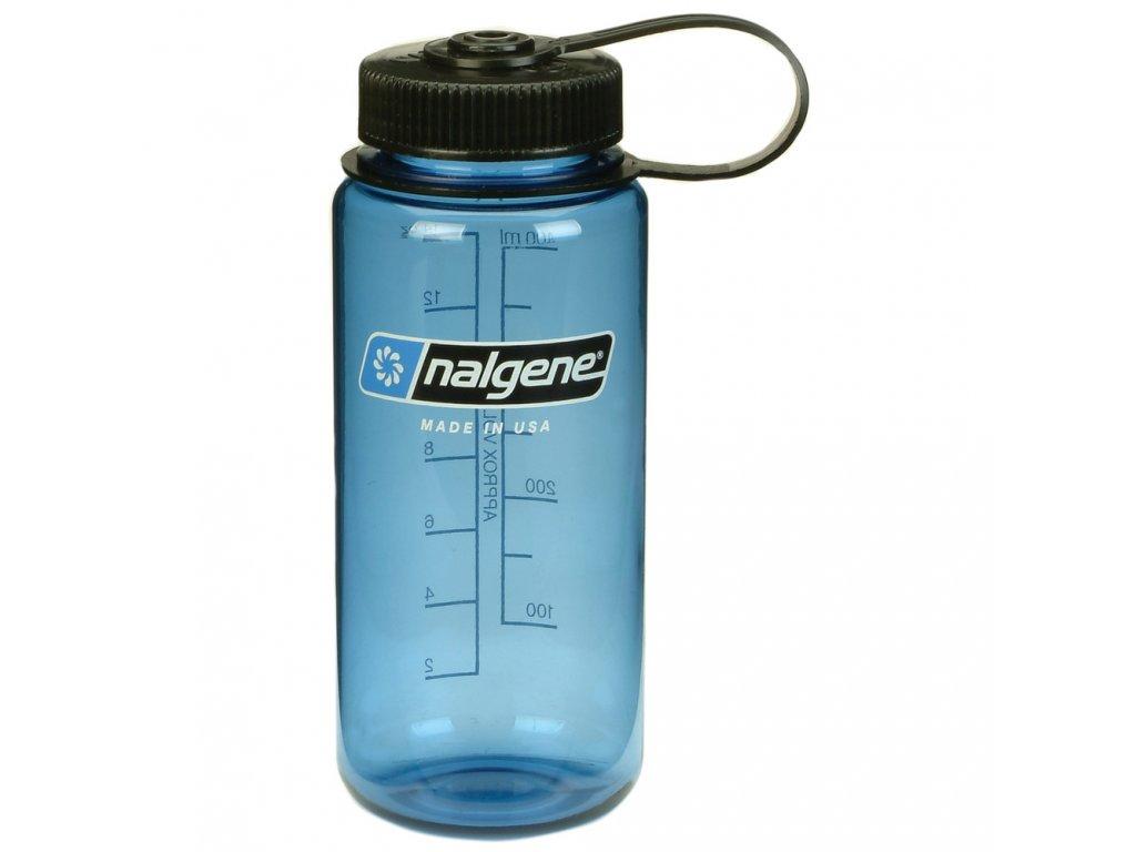 NALGENE - láhev na pití Wide Mouth 500 ml Blue