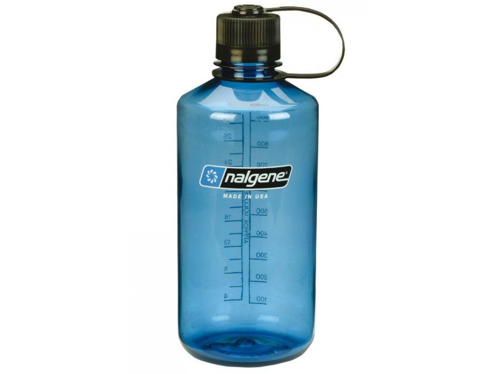 NALGENE - láhev na pití Narrow Mouth 1000 ml Blue